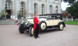 1927 Vintage Rolls Royce Phantom I convertible in Ivory White_______
