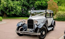 1928 Vintage 'Masons' British Built Citroen in White 2 reduced