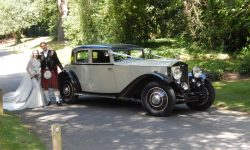 1931 RR Phantom Continental Sports Saloon in Ivory White_
