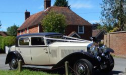 1931 Vintage Rolls Royce Phantom II Continental Sports Saloon in Ivory White