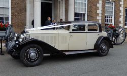 1931 Vintage Rolls Royce Phantom II Continental Sports Saloon in Ivory White____