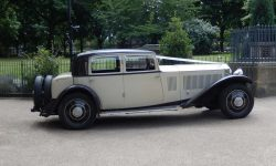 1931 Vintage Rolls Royce Phantom II Continental Sports Saloon in Ivory White_____