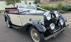 1933 Vintage Roech Talbot three position drop-head convertible in Ivory 1