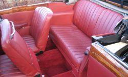 1933 Vintage Roesch Talbot 3 position drop-head interior