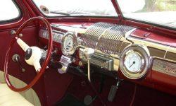 1946 Ford Sedan Hot Rod interior front