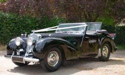 1949 Triumph Roadster in Black 1