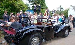 1949 Triumph Roadster in Black