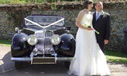 1949 Triumph Roadster in Black 3