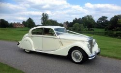 1950 MK V Jaguar in Ivory 5