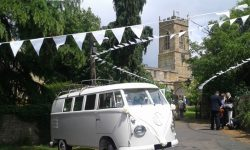 1950's VW split screen Campervan in White 2