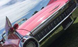 1959 Pink Cadillac convertible 1