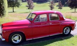 1960 Rover 600 in Tornado Red