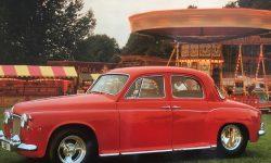 1960 Rover 600 in Tornado Red (fairground pic) en