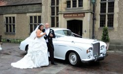 1964 Bentley S3 4 Bride and Groom
