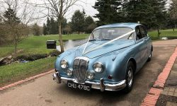 1965 Daimler V8 in Metallic Blue 14