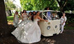 VW Campervan in Cream