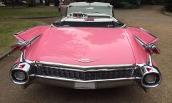 iconic 1959 Pink Cadillac convertible 5