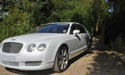 Bentley Contintental Flying Spur in White 2