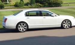 Bentley Contintental Flying Spur in White 5