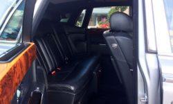Black RR Phantom Black interior