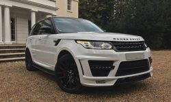 Latest Shape Range Rover Sports Lumma Edition in White (with panoramic sunroof)
