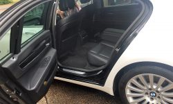 Latest model BMW in White (interior)