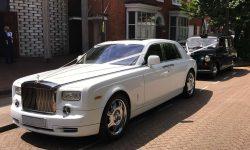 Modern Rolls Royce Phantom Facelift model in White 1