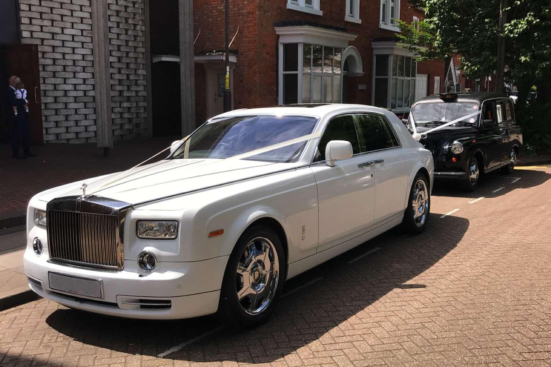 Modern Rolls Royce Phantom Gold Wedding Cars Wedding Car Hire