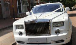 Modern Rolls Royce Phantom II facelift model in White 3