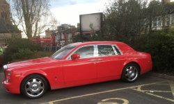 Phantom in Red with cream leater interior (latest shape) 2