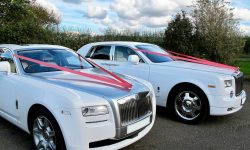Rolls Royce Ghost and Phantom together