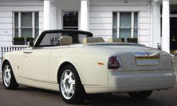 Rolls Royce Phantom Convertible in Corniche White 2