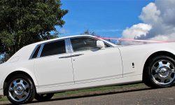 Rolls Royce Phantom facelift model in White new 1