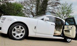 Rolls Royce Silver Ghost in White new 1