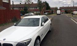 latest model BMW in White