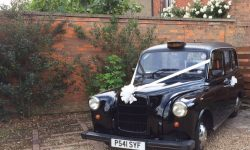 Black Fairway London Wdding Cab 6