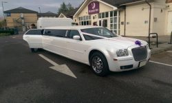 Chrysler Benz 300C American Stretch Limousine in White