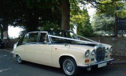 Daimler Limousine in black over cream