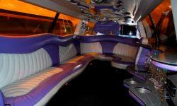 Excursion Stretch Jeep interior (14 passenger)
