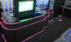 Merc Party Bus Interior 7