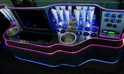 Merc Party Bus - bar