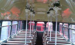 Red Routemaster interior decor