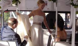 Red Routemaster - interior with Bride.bmp
