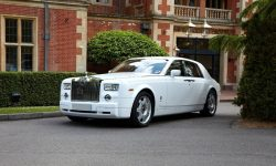 Rolls Royce Phantom facelift model in White 3