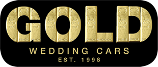 gold wedding cars london, wedding cars bedford